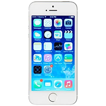 Apple iPhone 5s 64GB Unlocked GSM Phone (Silver)