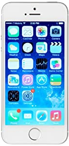 Amazon com: Apple iPhone 5s, Silver 16GB (Unlocked): Cell