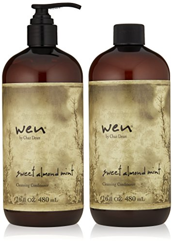 WEN-by-Chaz-Dean-Wen-Sweet-Almond-Mint-Cleansing-Conditioner-Duo-16-fl-oz