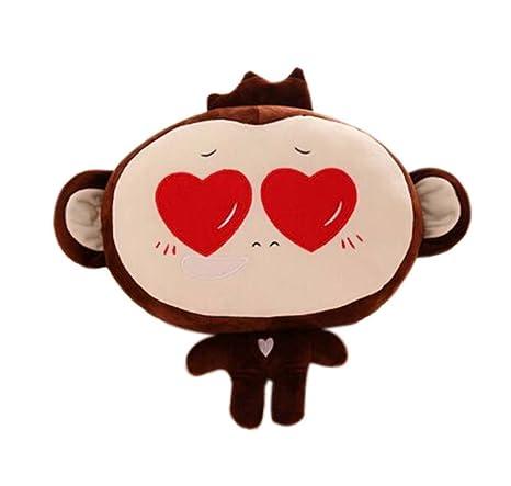 coussins drôle style de singe en peluche jouets/poupées