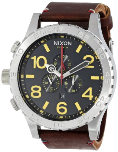 Nixon Black Brown Mens Watch A124019