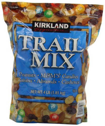 Signature Trail Mix, Peanuts, M and M Candies,