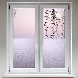 Artefact® Dekofolie / Fensterfolie Ranken | statisch haftend (ohne Kleber) | verschiedene Größen