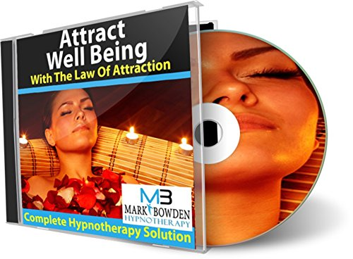 Attract Well Being With The Law Of Attraction Hypnosis / Hypnotherapy Cd - Want To Feel More At Ease And Better Equipped To Take Life In Your Stride? This Hypnotherapy Session Conditions You To Do Just That By Increasing Your Natural Wellbeing.