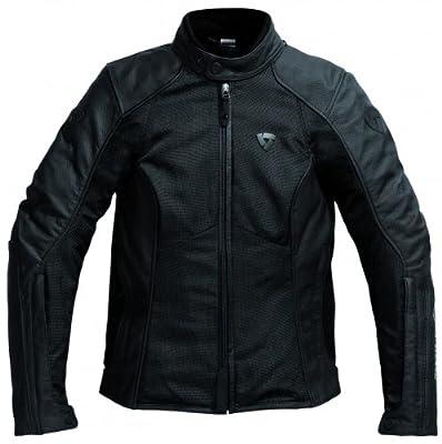 REV'IT Ignition 2 Lady - Blouson moto cuir/textile femme taille 46 noir