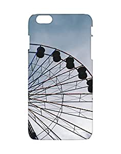 Mobifry Back case cover for Apple iPhone 6 Plus Mobile ( Printed design)