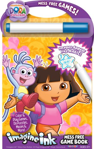 Bendon Dora the Explorer Mess-Free Game Book