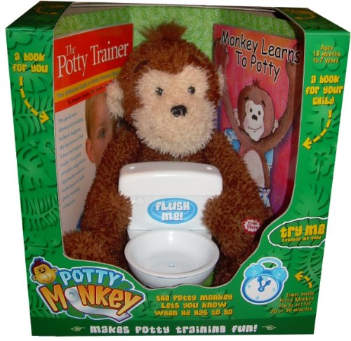 Potty Monkey – Potty Training Toy And Toilet Training Books