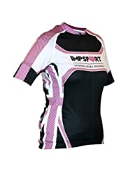 Impsport Patriot Pro Road Cycling Jersey Cerise