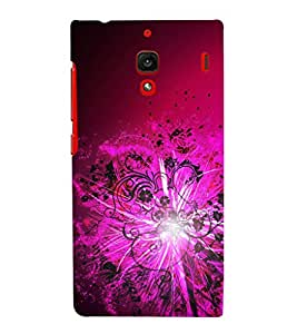 printtech Floral Light Pattern Streak Back Case Cover for Xiaomi Redmi 1S::Xiaomi Redmi (1st Gen)