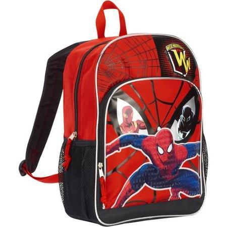 Marvel Spiderman 16'' Deluxe Front Pocket Kids Backpack