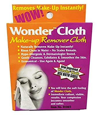 Best Cheap Deal for NEW IMPROVED Wonder Cloth All Natural Make-Up Remover Cloth (Pack of 6) from Wonder - Free 2 Day Shipping Available