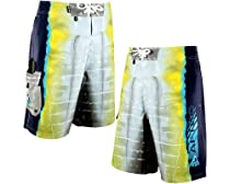AFTCO Yellowfin Boardshorts - Yellow - Size 42