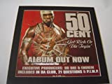 50 CENT GET RICH OR DIE TRYIN POSTER IN A MOUNT READY TO FRAME