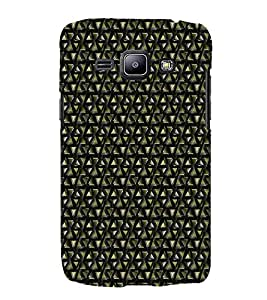 Colourful Pattern 3D Hard Polycarbonate Designer Back Case Cover for Samsung Galaxy J2 (2016)
