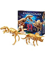 Buki - 20439 - Jeu Scientifique - Science et Nature - Dino Duo