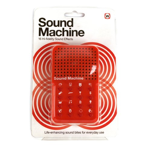 Sound Machine - 16 Hi-fidelity Sound Effects
