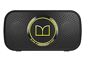 Monster Power Superstar Bluetooth Speaker Black Green