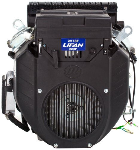 Lifan Lf2V78-2Dqtc Industrial Grade 22 Hp 688Cc V-Twin 4-Stroke Ohv Engine With Electric Start, 1.125-Inch Keyway Shaft And 22 Amp Charging System
