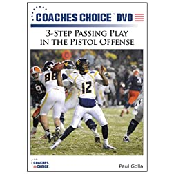3-Step Passing Play in the Pistol Offense