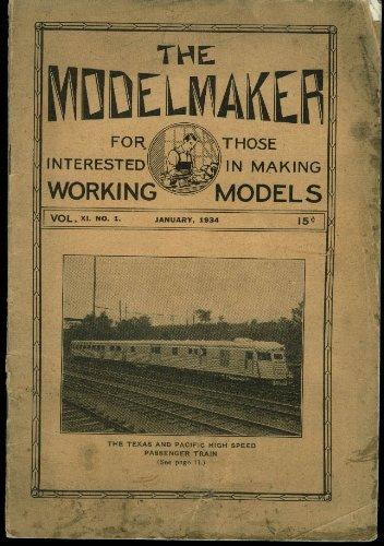 The Modelmaker 1 1934: Boynton Bicycle Electric Ry; New Hudson +