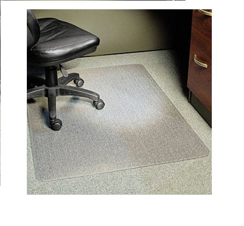 "Es Robbins - Rectangle Chair Mat, Task Series Anchorbar For Carpet Up To 1/4"" - 46"" X 60"" front-356019"