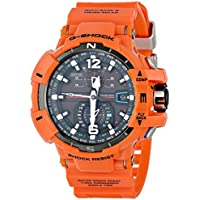 Casio G-Shock GWA1100R-4A Gravitymaster Atomic Tough Solar Men's Watch (Orange)