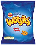 Walkers Cheese Wotsits Crisps 22.5 g (Pack of 48)