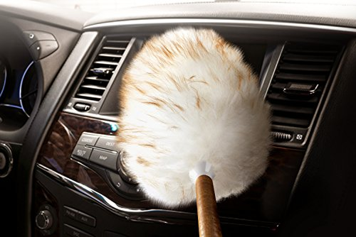 genuine australian lambswool car interior duster by lush ride tm 100 natural wool from. Black Bedroom Furniture Sets. Home Design Ideas