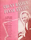 img - for Count Basie's Piano Styles .. 15 Piano Solos book / textbook / text book