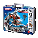 Erector Super Construction Set - 25 Models - 640+ Parts