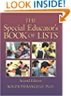 The Special Educator's Book of Lists