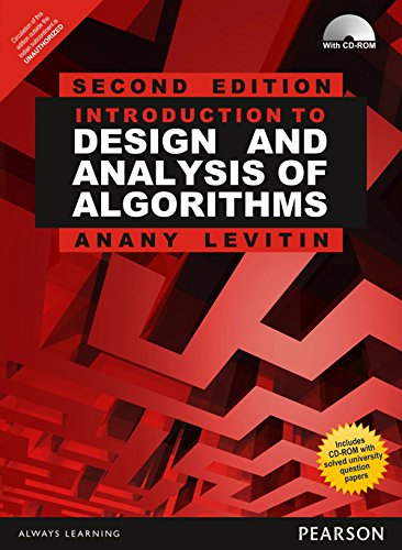 Introduction to Design and Analysis of Algorithms (Anna University)