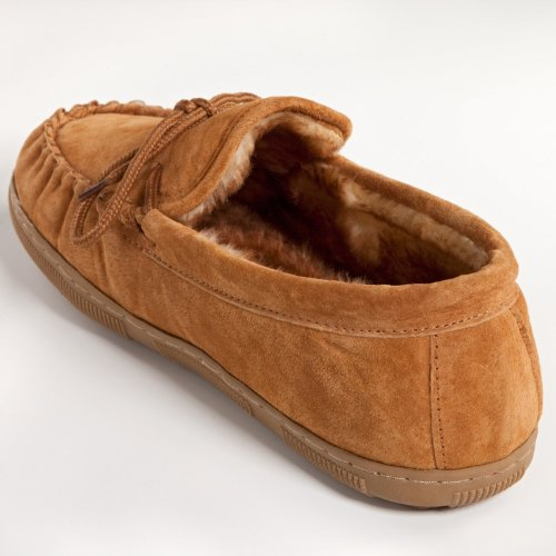 buy low price lamo mens suede moccasin slippers p102m 9