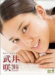 武井咲 カレンダー 2014年