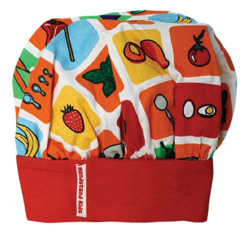 Handstand Kids / Child's 'Eat Your Fruits and Veggies' Chef's Hat
