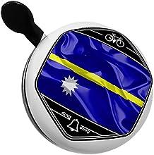 Bicycle Bell Nauru 3D Flag by NEONBLOND