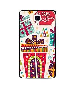 printtech Merry Christmas Back Case Cover for Xiaomi Redmi Mi4 , Xiaomi Mi 4