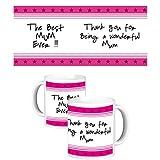 ToduGift Best Mum Ever mug
