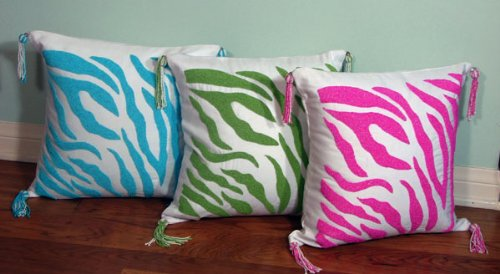 zebra print bedding : Jolly Bed Teen Bedding: Hot Pink and White Zebra Print
