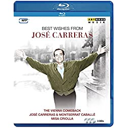 Best wishes from José Carreras [Blu-ray]