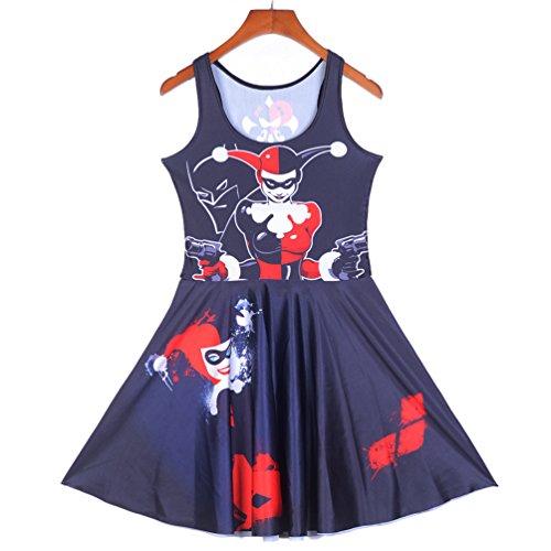 Rujia (Harley Quinn Dress Plus Size)