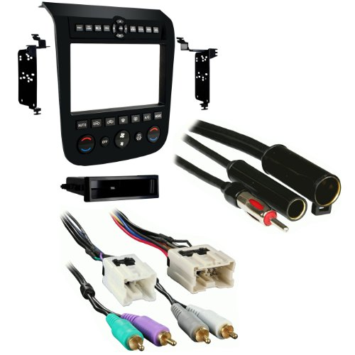 metra 99 7612b single din stereo installation dash kit for 2003 2007 nissan murano with