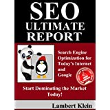 SEO Ultimate  Report: Search Engine Optimization for Today's Internet & Google ~ Lambert Klein