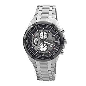 Casio Men's EF539D-8AV Edifice Stainless Steel Chronograph Sport Watch