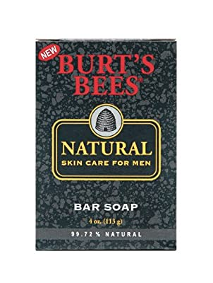Best Cheap Deal for Burt's Bees Natural Skin Care for Men Bar Soap, 4 Ounces, (Pack of 3) by Burt's Bees - Free 2 Day Shipping Available