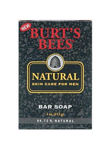 Burt's Bees Natural Skin Care for Men Bar Soap,