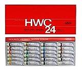 ホルベイン  透明水彩絵具 24色セット W405 5ml(2号)