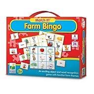 Learning Journey Match It! Bingo - Farm