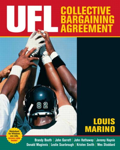 UFL Collective Bargaining Agreement